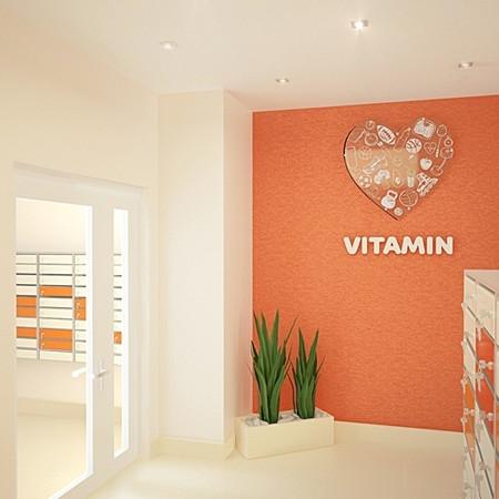 ЖК Витамин, отделка, комната, квартира, коридор, холл